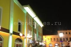 Архитектурное освещение ТЦ «Гагаринский»
