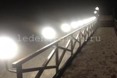 """Освещение моста через реку """"Агра"""" Владимирская область"""