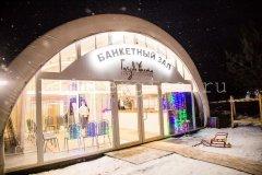 Освещение банкетного зала «Гнездо аист»
