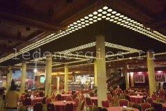 Потолочное освещение гостиничного комплекса «Суздаль»