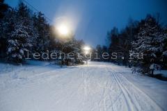 Освещение лыжной трассы