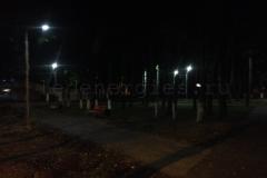 Освещение Парка 200-летия г. Ковров