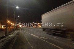 Светодиодное освещение участка федеральной трассы М7