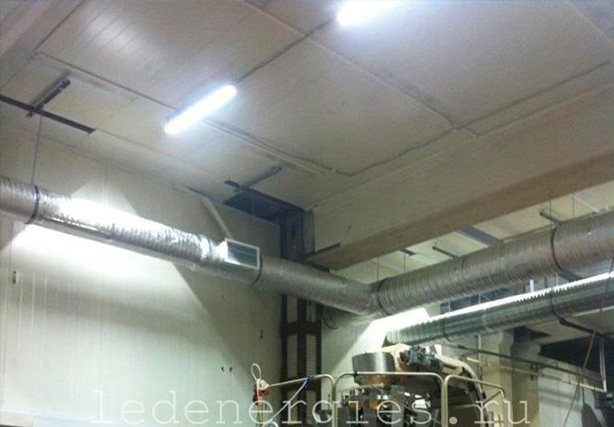 модернизация освещения промышленного помещения