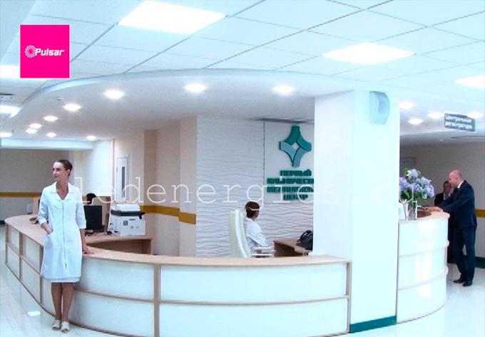 внутреннее освещение медицинского центра г. Ковров