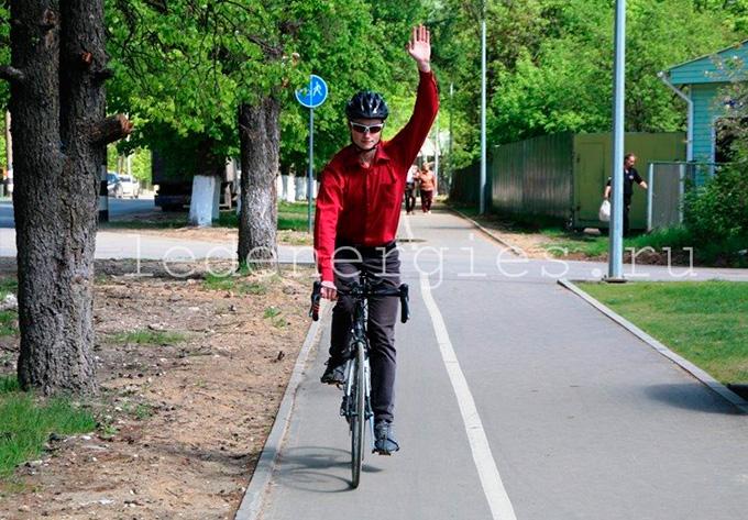 Освещение велопешеходной дорожки г. Ковров